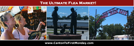 The ultimate fleamarket ... Canton First Monday Trade Days ... experience it soon!