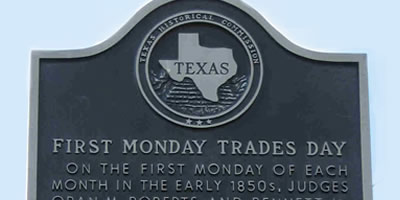 First Monday Trade Days Flea Market And Swap Meet History