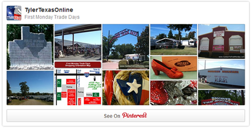 See our Pinterest board about First Monday Trade Days at TylerTexasOnline !