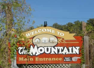 Welcome to the Mountain, at First Monday Trade Days in Canton, Texas