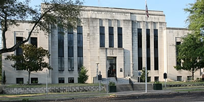 Van Zandt County Courthouse in Canton Texas